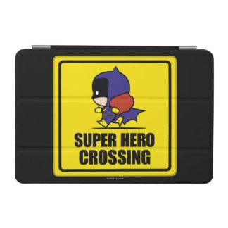 Chibi Batwoman Super Hero Crossing Sign iPad Mini Cover
