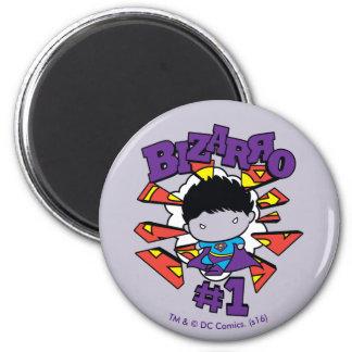 Chibi Bizarro #1 2 Inch Round Magnet