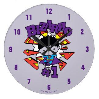 Chibi Bizarro #1 Clocks