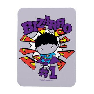 Chibi Bizarro #1 Rectangular Photo Magnet
