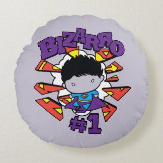 Chibi Bizarro #1 Round Pillow