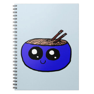 Chibi Bowl of Noodles notebook