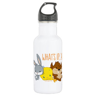 Chibi BUGS BUNNY™, TWEETY™, & TAZ™ 532 Ml Water Bottle