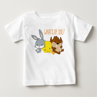 Chibi BUGS BUNNY™, TWEETY™, & TAZ™ Baby T-Shirt