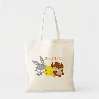 Chibi BUGS BUNNY™, TWEETY™, & TAZ™ Tote Bag