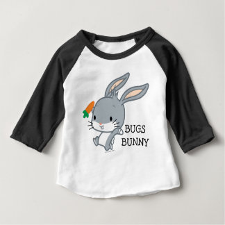 Chibi BUGS BUNNY™ With Carrot Baby T-Shirt