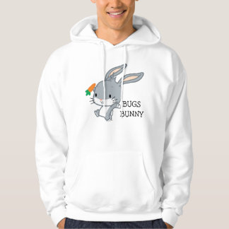Chibi BUGS BUNNY™ With Carrot Hoodie