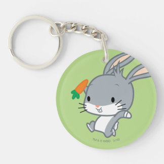 Chibi BUGS BUNNY™ With Carrot Keychain