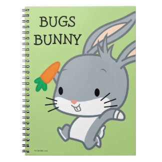 Chibi BUGS BUNNY™ With Carrot Notebooks