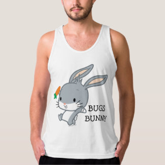 Chibi BUGS BUNNY™ With Carrot Tank Top