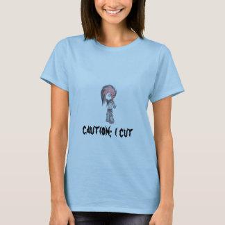 chibi____by_gothic_wolfar, caution: i cut T-Shirt