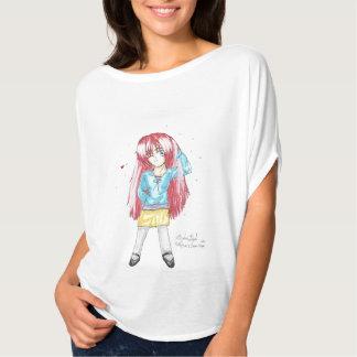 Chibi CAsual Fashion Harumi Bella Flowy TShirt