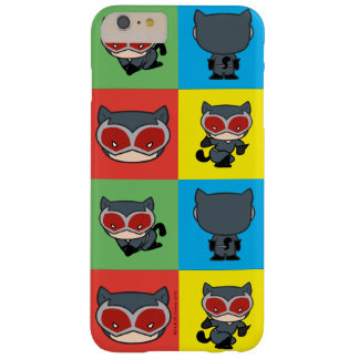 Chibi Catwoman Character Poses Barely There iPhone 6 Plus Case