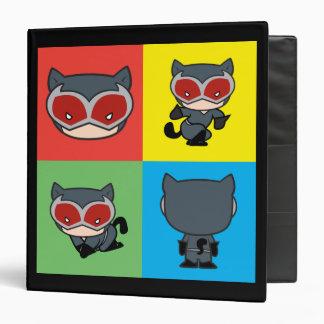 Chibi Catwoman Character Poses Binders