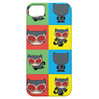 Chibi Catwoman Character Poses Case For The iPhone 5