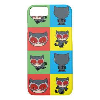 Chibi Catwoman Character Poses iPhone 8/7 Case