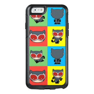 Chibi Catwoman Character Poses OtterBox iPhone 6/6s Case