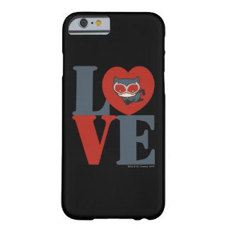 Chibi Catwoman LOVE Barely There iPhone 6 Case
