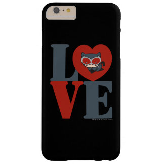 Chibi Catwoman LOVE Barely There iPhone 6 Plus Case