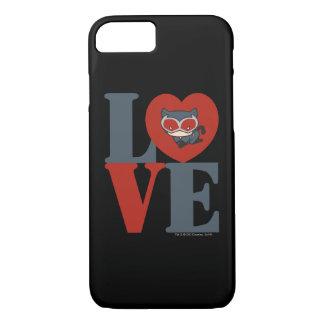 Chibi Catwoman LOVE iPhone 8/7 Case