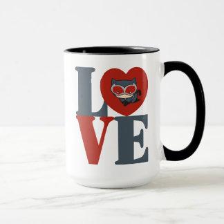 Chibi Catwoman LOVE Mug
