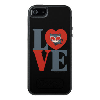 Chibi Catwoman LOVE OtterBox iPhone 5/5s/SE Case