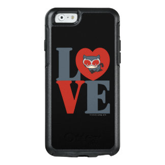 Chibi Catwoman LOVE OtterBox iPhone 6/6s Case