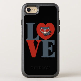Chibi Catwoman LOVE OtterBox Symmetry iPhone 8/7 Case