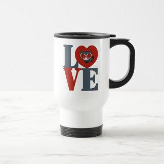 Chibi Catwoman LOVE Travel Mug