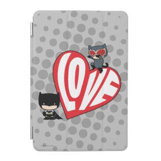 Chibi Catwoman Pounce on Batman iPad Mini Cover