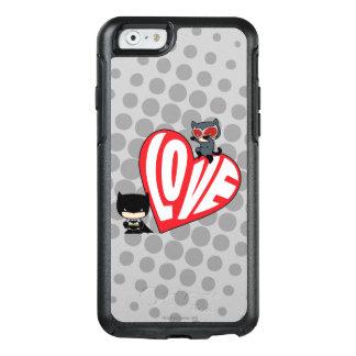 Chibi Catwoman Pounce on Batman OtterBox iPhone 6/6s Case