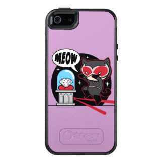 Chibi Catwoman Stealing A Diamond OtterBox iPhone 5/5s/SE Case