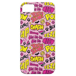 Chibi Comic Phrases and Logos Pattern iPhone 5 Covers