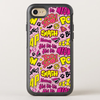 Chibi Comic Phrases and Logos Pattern OtterBox Symmetry iPhone 8/7 Case