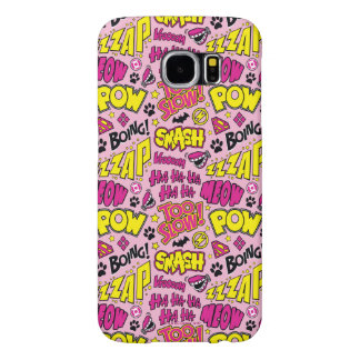 Chibi Comic Phrases and Logos Pattern Samsung Galaxy S6 Cases