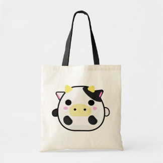 Chibi Cow Tote Bag