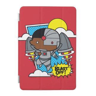 Chibi Cyborg Blast Off! iPad Mini Cover