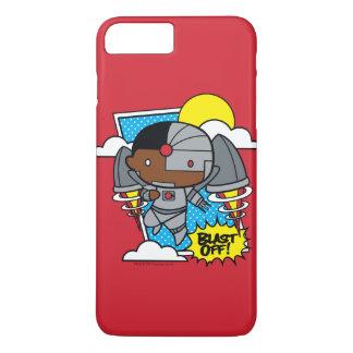 Chibi Cyborg Blast Off! iPhone 7 Plus Case