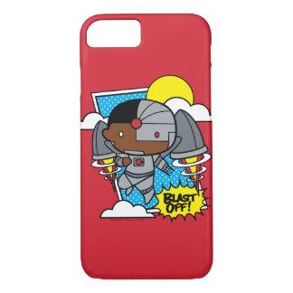Chibi Cyborg Blast Off! iPhone 8/7 Case