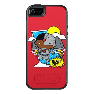 Chibi Cyborg Blast Off! OtterBox iPhone 5/5s/SE Case