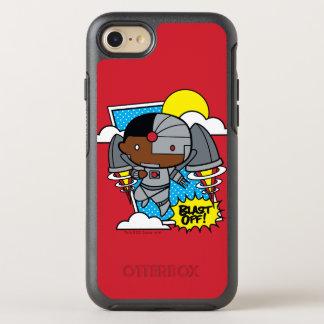 Chibi Cyborg Blast Off! OtterBox Symmetry iPhone 8/7 Case