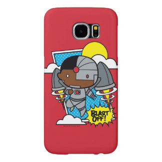 Chibi Cyborg Blast Off! Samsung Galaxy S6 Cases