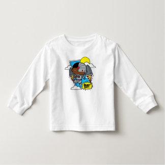 Chibi Cyborg Blast Off! Toddler T-shirt