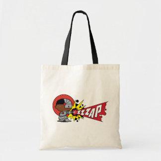 Chibi Cyborg's Cybernetic Cannon Tote Bag