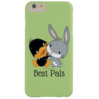 Chibi DAFFY DUCK™ & BUGS BUNNY™ Barely There iPhone 6 Plus Case
