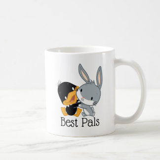 Chibi DAFFY DUCK™ & BUGS BUNNY™ Coffee Mug