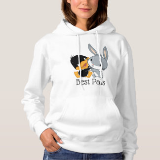 Chibi DAFFY DUCK™ & BUGS BUNNY™ Hoodie