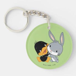 Chibi DAFFY DUCK™ & BUGS BUNNY™ Keychain