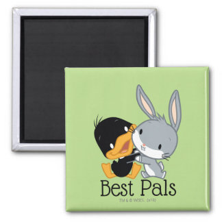 Chibi DAFFY DUCK™ & BUGS BUNNY™ Magnet