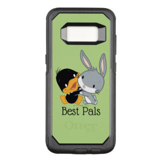 Chibi DAFFY DUCK™ & BUGS BUNNY™ OtterBox Commuter Samsung Galaxy S8 Case